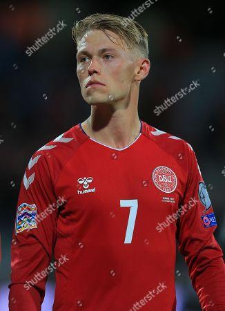 Viktor Fischer of Denmark
