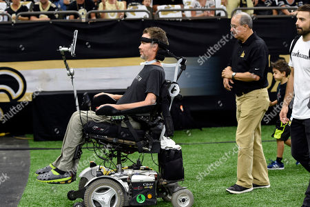 Editorial picture of Buccaneers Saints Football, New Orleans, USA - 09 Sep 2018