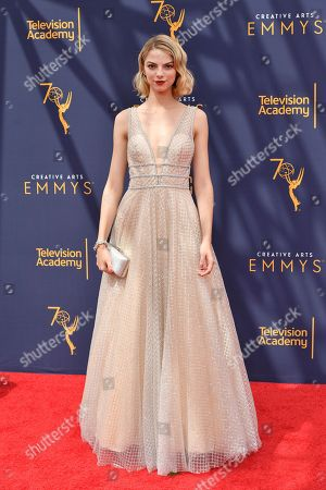 Editorial image of Creative Arts Emmy Awards, Arrivals, Day 2, Los Angeles, USA - 09 Sep 2018