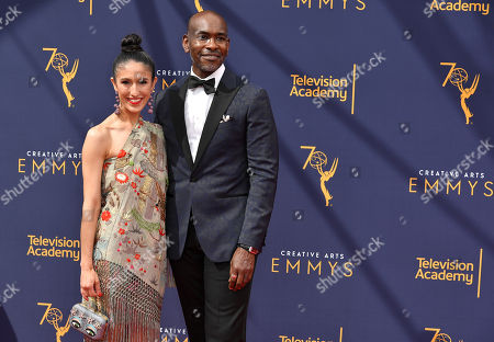 Editorial picture of Creative Arts Emmy Awards, Arrivals, Day 2, Los Angeles, USA - 09 Sep 2018