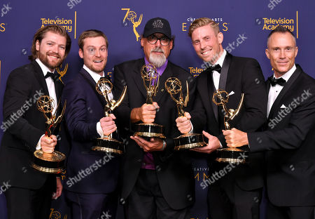 Daniel Day, Mike Cheeseman, Terry Pratt, David Lovejoy and Ben Mullen - Outstanding Cinematography for a Reality Program - Life Below Zero