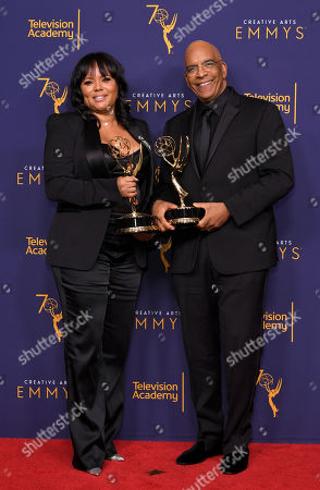 Rikki Hughes and Stan Lathan w - Outstanding Variety Special (pre-recorded) - 'Dave Chappelle: Equanimity'