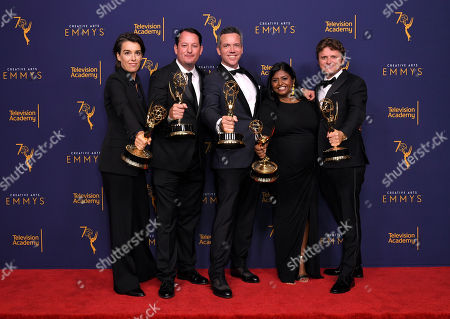 Kate Kunath, Ed O'Keefe, Nathan Thornburgh, Nitya Chambers, and Matt Goulding - Outstanding Short Form Nonfiction or Reality Series - 'Anthony Bourdain: Explore Parts Unknown'