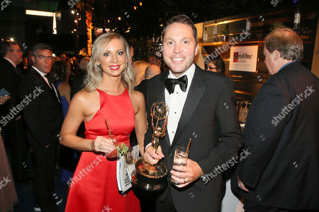 Rob Crabbe, Sarah Crabbe. Ketel One Family-Made Vodka toasts to television's finest as the official spirits partner of the 70th Emmy Awards season at the 2018 Creative Arts Emmy Awards ñ Night One on at LA Live in Los Angeles