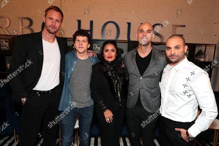 Alexander Skarsgard, Jesse Eisenberg, Salma Hayek, Kim Nguyen, Writer/Director/Executive Producer, Michael Mando