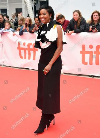 """Gabrielle Union attends a gala for """"The Public"""" on day 4 of the Toronto International Film Festival at Roy Thomson Hall, in Toronto"""