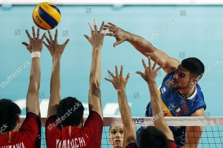 Editorial image of Italy vs Japan, Rome - 09 Sep 2018