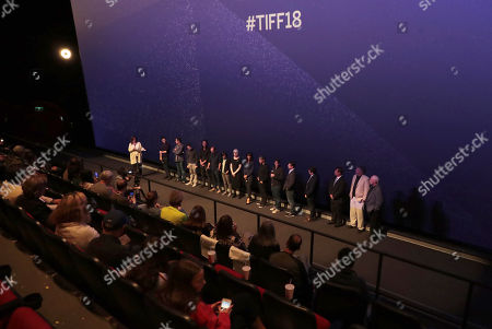 Damien Chazelle, Director/Producer, Josh Singer, Writer/Executive Producer, Justin Hurwitz, composer, Linus Sandgren, Director of photography, Nathan Crowley, production designer, Ai-Ling Lee, sound editor, Mildred Iatrou, supervising sound editor, Mark Armstrong, Rick Armstrong, Al Worden