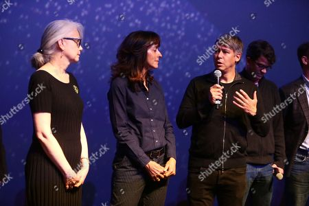 Mildred Iatrou, supervising sound editor, Mary Zophres, costume designer, Tom Cross, editor