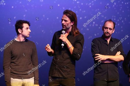 Justin Hurwitz, composer, Linus Sandgren, Director of photography, Nathan Crowley, production designer