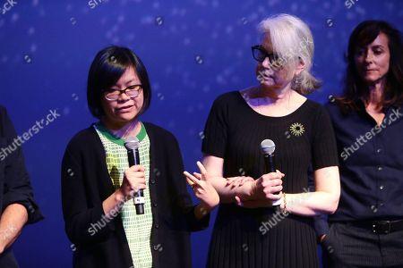 Ai-Ling Lee, sound editor, Mildred Iatrou, supervising sound editor