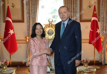 Princess Akiko visit to Turkey
