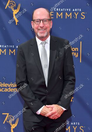 Chris Jenkins arrives at night two of the Television Academy's 2018 Creative Arts Emmy Awards at the Microsoft Theater, in Los Angeles