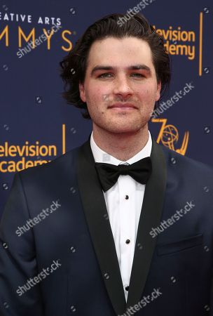 Maclain Way arrives at night two of the Television Academy's 2018 Creative Arts Emmy Awards at the Microsoft Theater, in Los Angeles