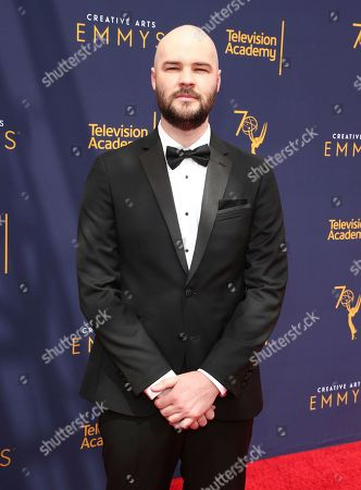 Chapman Way arrives at night two of the Television Academy's 2018 Creative Arts Emmy Awards at the Microsoft Theater, in Los Angeles