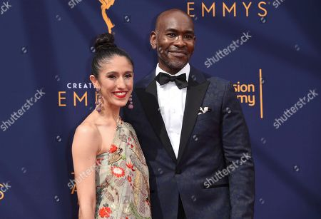 Laaleh Mizani, Paul Tazewell. Laaleh Mizani, left, and Paul Tazewell arrive at night two of the Creative Arts Emmy Awards at The Microsoft Theater, in Los Angeles