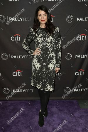 """Co-Creator and Executive Producer Sera Gamble attends the PaleyFest Fall TV Previews of """"You"""" at The Paley Center for Media, in Beverly Hills, Calif"""