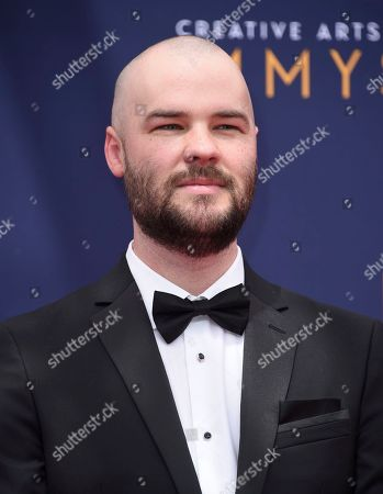 Chapman Way arrives at night two of the Creative Arts Emmy Awards at The Microsoft Theater, in Los Angeles