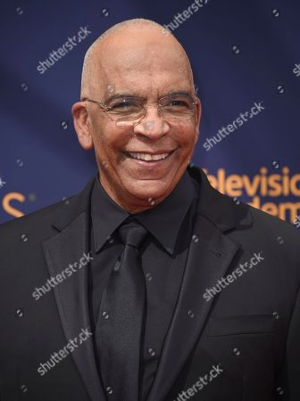 Stan Lathan arrives at night two of the Creative Arts Emmy Awards at The Microsoft Theater, in Los Angeles
