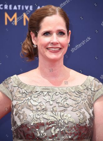 Alison Camillo arrives at night two of the Creative Arts Emmy Awards at The Microsoft Theater, in Los Angeles