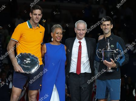Editorial picture of US Open Tennis Championships, Day 14, USTA National Tennis Center, Flushing Meadows, New York, USA - 09 Sep 2018