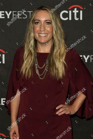 """Stock Image of Caroline Kepnes attends the PaleyFest Fall TV Previews of """"You"""" at The Paley Center for Media, in Beverly Hills, Calif"""