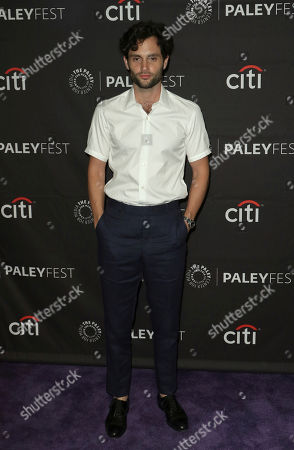 """Penn Badgley attends the PaleyFest Fall TV Previews of """"You"""" at The Paley Center for Media, in Beverly Hills, Calif"""
