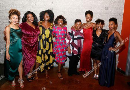 Joanna A. Jones, Abena Mensah-Bonsu, Zenzi Williams, MaameYaa Boafo, Myra Lucretia Taylor, Latoya Edwards, Paige Gilbert and Mirirai Sithole