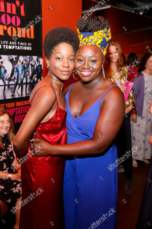 Latoya Edwards and Jocelyn Bioh