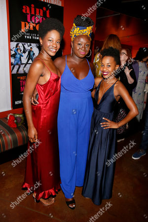 Latoya Edwards, Jocelyn Bioh and Mirirai Sithole