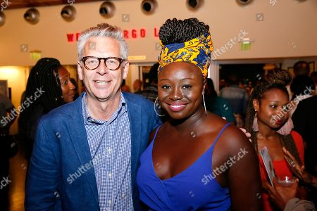 Michael Ritchie and Jocelyn Bioh