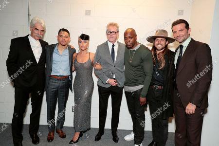 Sam Elliott, Anthony Ramos, Lady Gaga, Piers Handling, Toronto International Film Festival Director/CEO, Dave Chappelle, Lukas Nelson, Bradley Cooper, Director/Writer/Producer/Actor,
