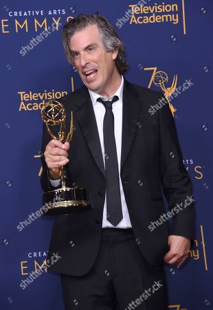 Editorial image of 2018 Creative Arts Emmy Awards - Press Room - Night Two, Los Angeles, USA - 09 Sep 2018