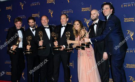 Editorial photo of 2018 Creative Arts Emmy Awards - photo room, Los Angeles, USA - 09 Sep 2018