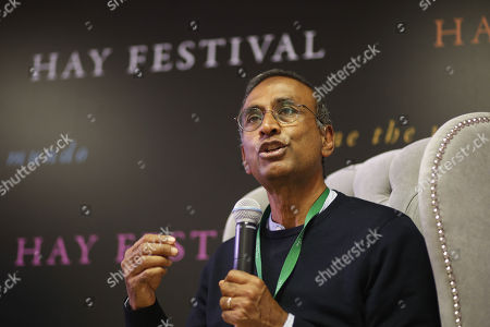 Nobel Prize in Chemistry 2009, Indian scientist Venkatraman Ramakrishnan, participates in the third edition of Hay Festival held at the city of Queretaro, Mexico, 09 September 2018.