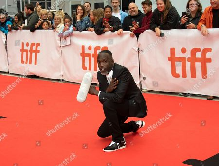 US actor and cast member Michael Kenneth Williams arrives for the screening of the movie 'The Public' during the 43rd annual Toronto International Film Festival (TIFF) in Toronto, Canada, 09 September 2018.
