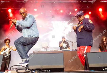 Big Boi, Sleepy Brown. Sleepy Brown, left, and Big Boi perform on stage at ONE Musicfest, in Atlanta