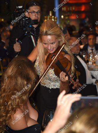 Caroline Campbell performs