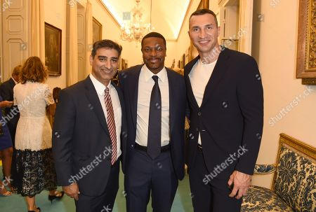 Wladimir Klitschko and Chris Tucker
