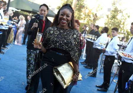 Kinya Claiborne attends the Governors Ball during night two of the Television Academy's 2018 Creative Arts Emmy Awards at the Microsoft Theater, in Los Angeles