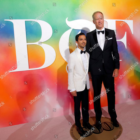 Imran Amed, Pete Nordstrom. Founder & Editor-In-Chief, The Business of Fashion, Imran Amed, left, and Executive Vice President, Nordstrom, Inc., Pete Nordstrom attend the BoF 500 Gala held at One Hotel Brooklyn Bridge during New York Fashion Week, in New York