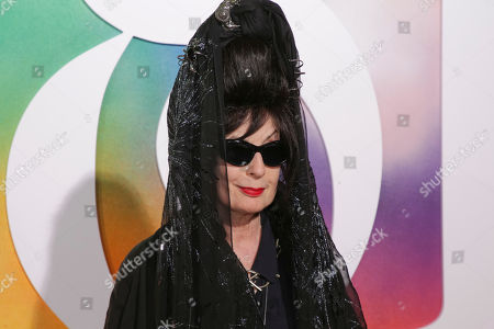 Stock Image of Diane Pernet attends the BoF 500 Gala held at One Hotel Brooklyn Bridge during New York Fashion Week, in New York