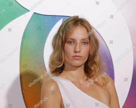 Petra Collins attends the BoF 500 Gala held at One Hotel Brooklyn Bridge during New York Fashion Week, in New York