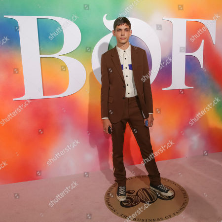 Ethan James Green attends the BoF 500 Gala held at One Hotel Brooklyn Bridge during New York Fashion Week, in New York