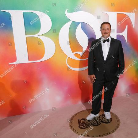 Editorial photo of NYFW Spring/Summer 2019-BoF 500 Gala, New York, USA - 09 Sep 2018