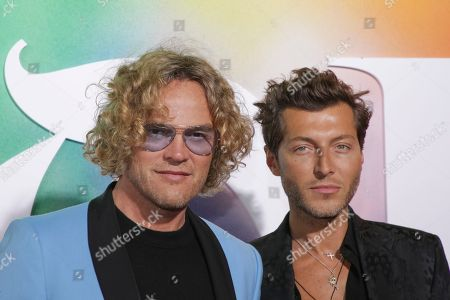 Peter Dundas, Evangelo Bousis. Peter Dundas and Evangelo Bousis attend the BoF 500 Gala held at One Hotel Brooklyn Bridge during New York Fashion Week, in New York