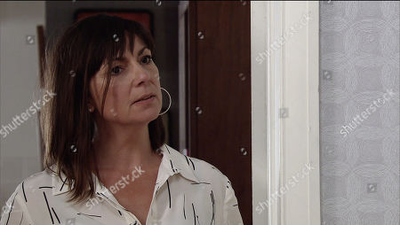 Ep 9564 Wednesday 19th September 2018 - 1st Ep Sally Metcalfe is nervous for her pre trial hearing and goes looking for Sophie Webster at No. 13 but walks in on her and Paula, as played by Stirling Gallacher, together.