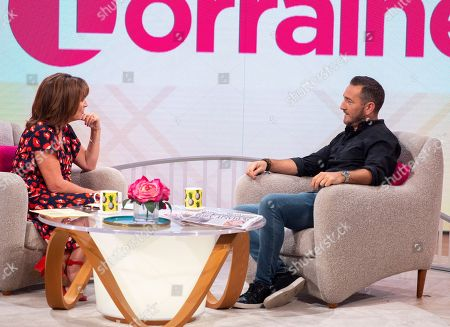 Lorraine Kelly and Will Mellor