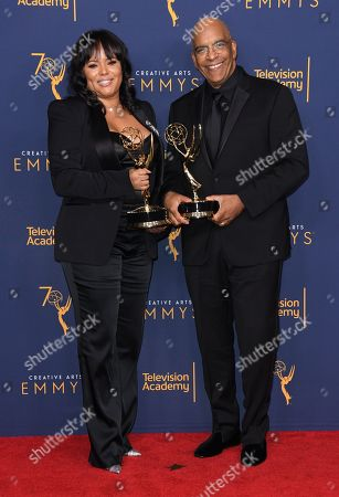 Editorial picture of Creative Arts Emmy Awards, Press Room, Day 2, Los Angeles, USA - 09 Sep 2018