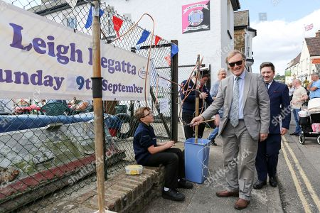 Stock Image of Sir David Amess MP, Conservative local member of parliament for Southend West at the event.